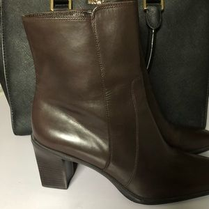 Cole Haan Brown Ankle Boots